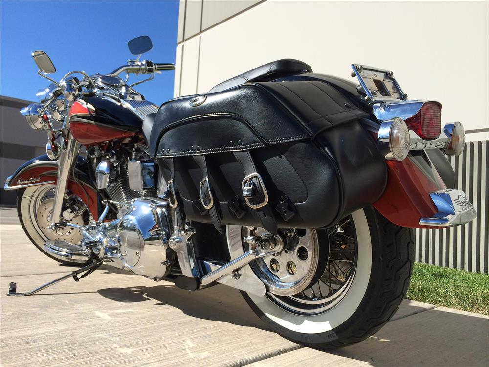 2000 SPECIAL CONSTRUCTION CUSTOM SOFTTAIL MOTORCYCLE - Rear 3/4 - 180503