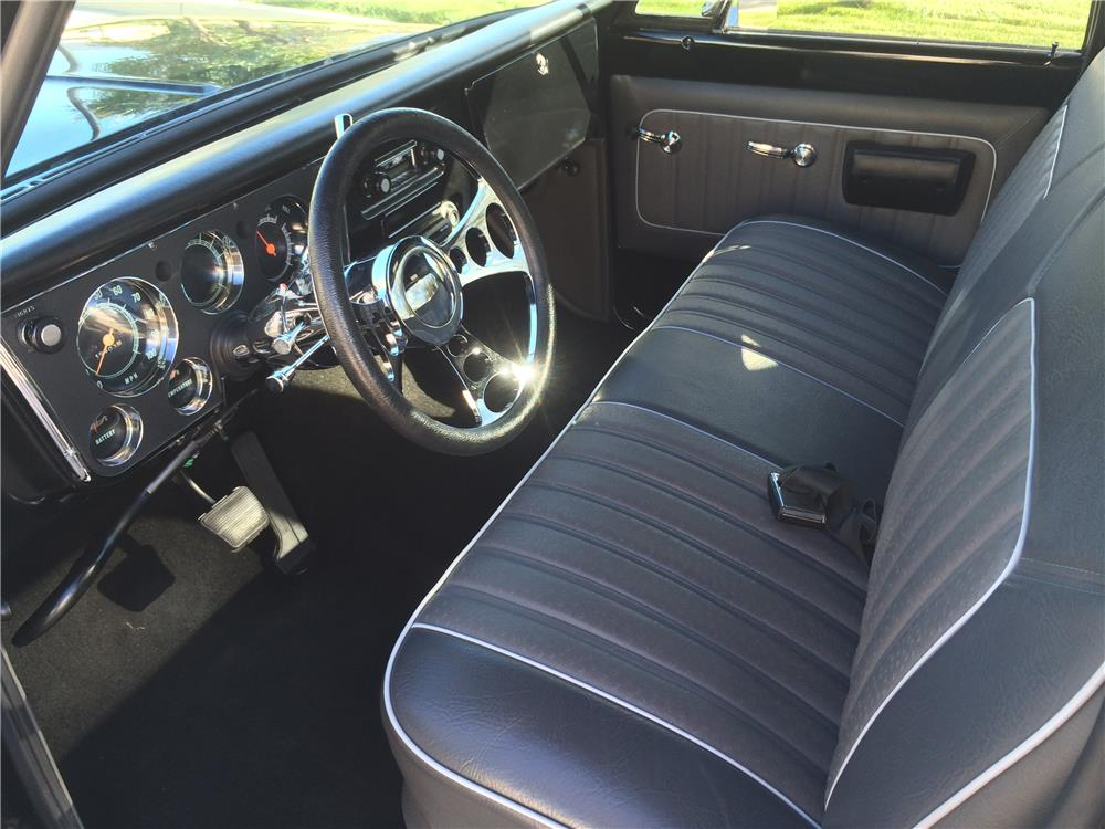 1972 CHEVROLET C-10 CUSTOM PICKUP - Interior - 180504