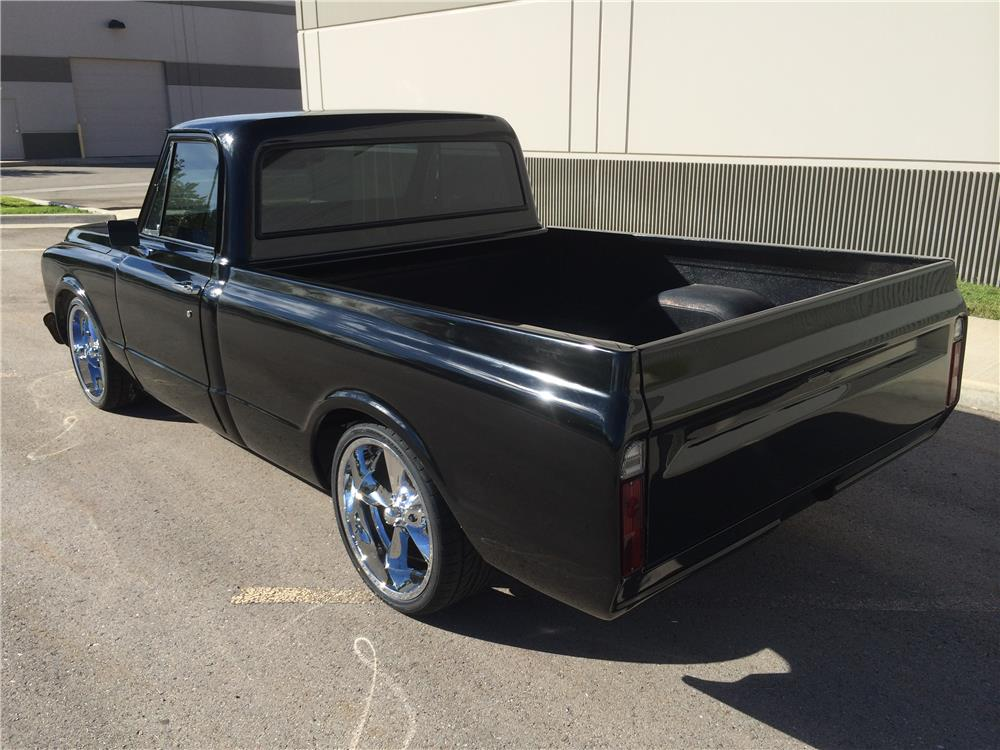1972 CHEVROLET C-10 CUSTOM PICKUP - Rear 3/4 - 180504