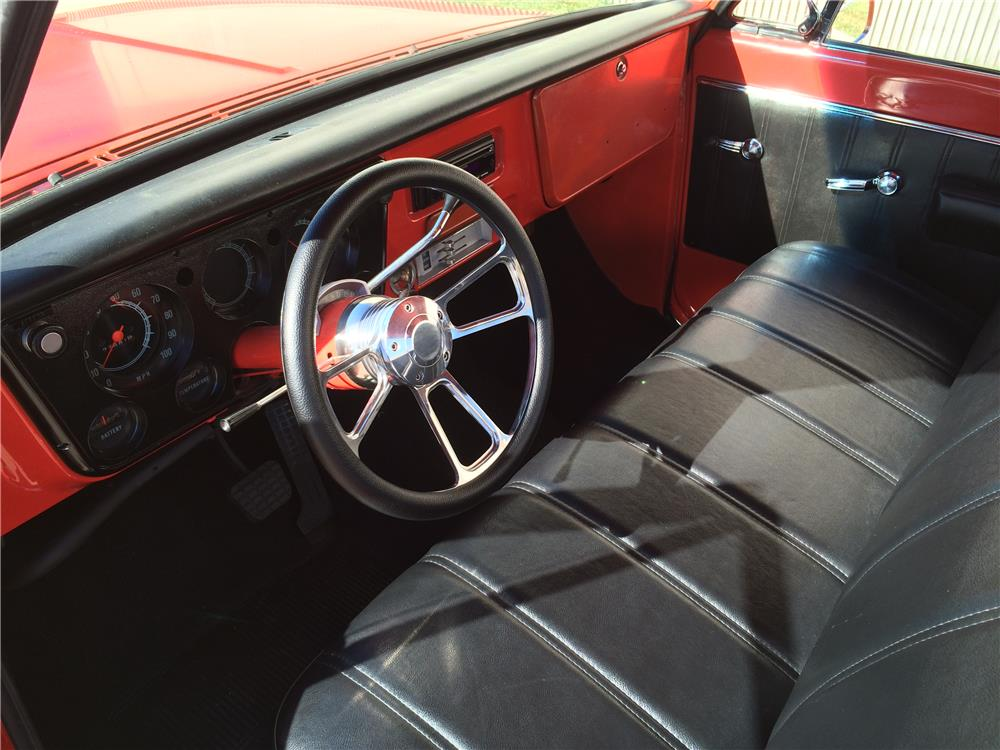 1968 CHEVROLET C-10 CUSTOM PICKUP - Interior - 180507