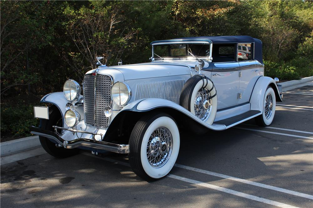 1932 AUBURN 12 160A CONVERTIBLE SEDAN