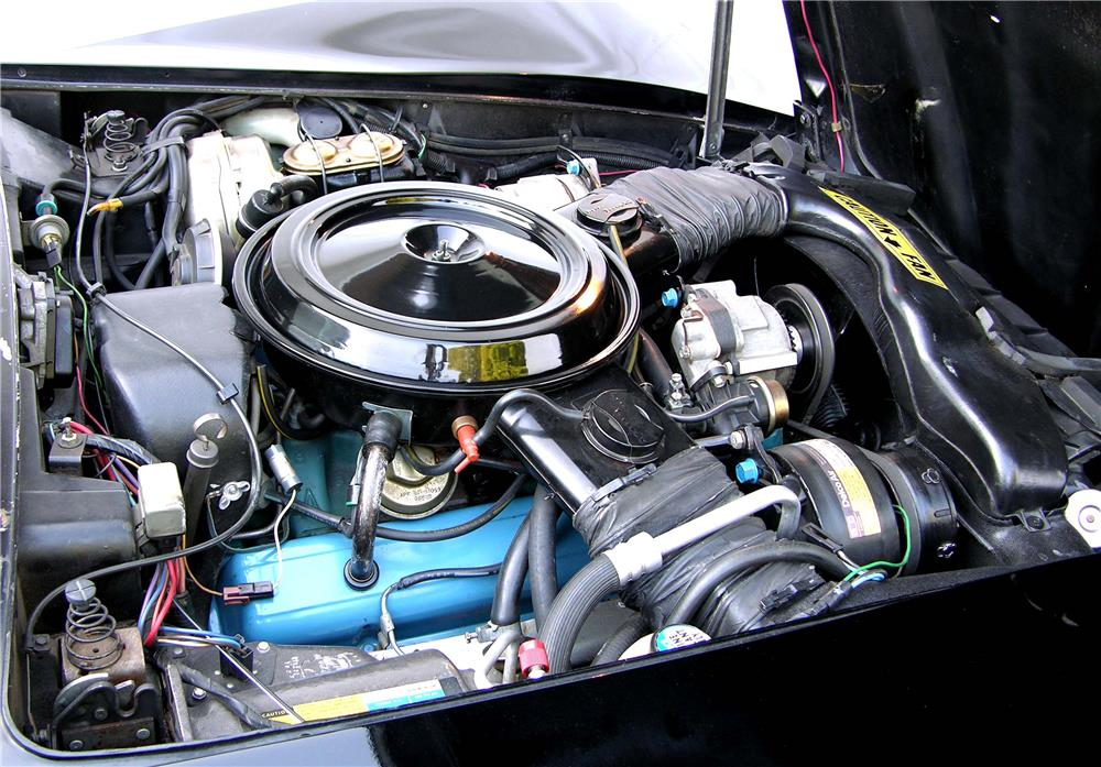 1980 CHEVROLET CORVETTE - Engine - 180528