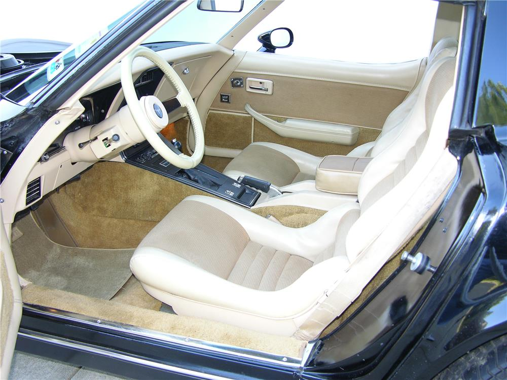 1980 CHEVROLET CORVETTE - Interior - 180528
