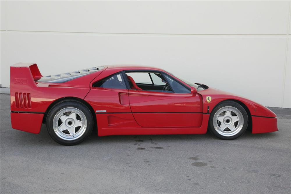 1989 FERRARI F40 - Side Profile - 180537