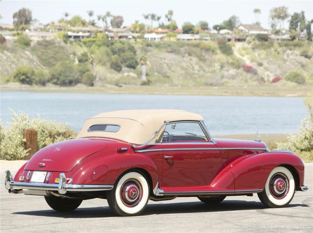 1953 MERCEDES-BENZ 300S CABRIOLET - Side Profile - 180539