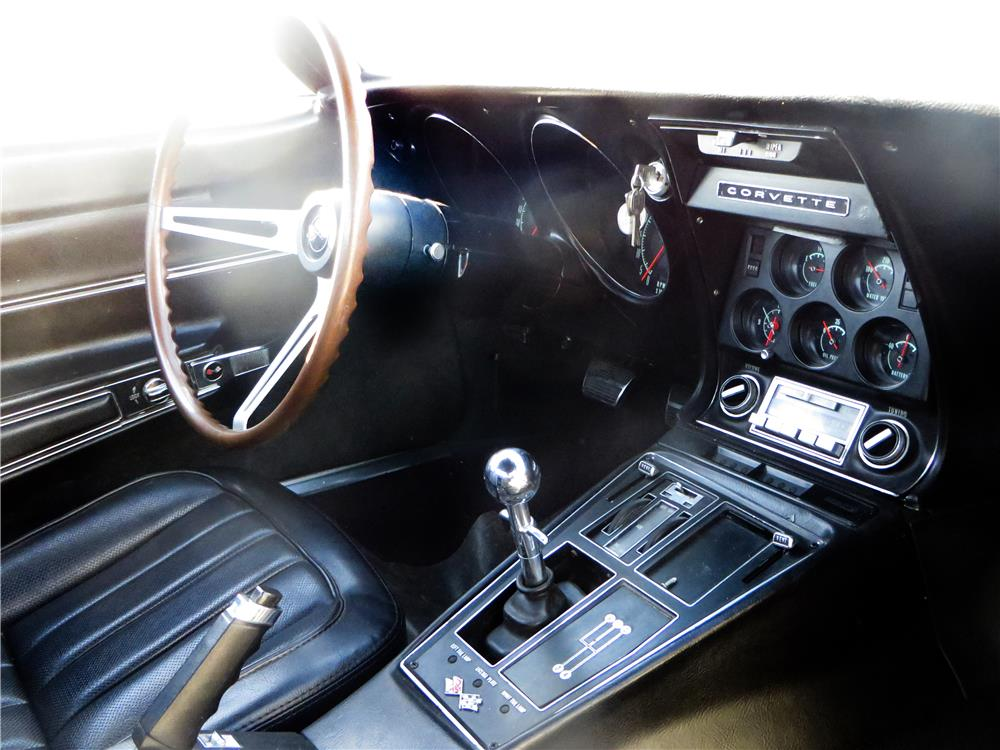 1968 CHEVROLET CORVETTE L89 CONVERTIBLE - Interior - 180556
