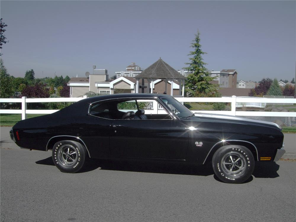 1970 CHEVROLET CHEVELLE SS LS6 - Side Profile - 180571
