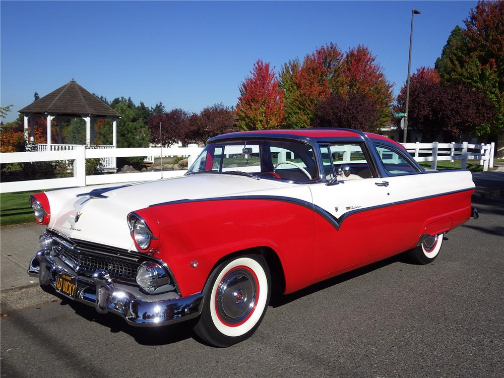 1955 ford crown victoria front 3 4 180577. Cars Review. Best American Auto & Cars Review