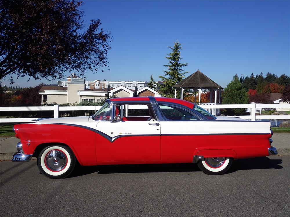 1955 ford crown victoria side profile 180577. Cars Review. Best American Auto & Cars Review