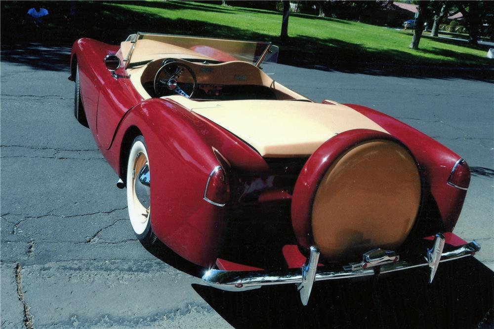 1955 WOODILL WILDFIRE ROADSTER - Rear 3/4 - 180587