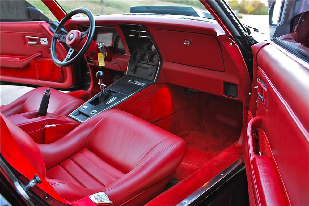 1981 CHEVROLET CORVETTE GREENWOOD GTO - Interior - 180595