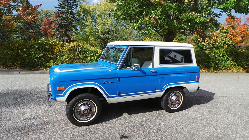 1977 FORD BRONCO HARDTOP - Side Profile - 180608