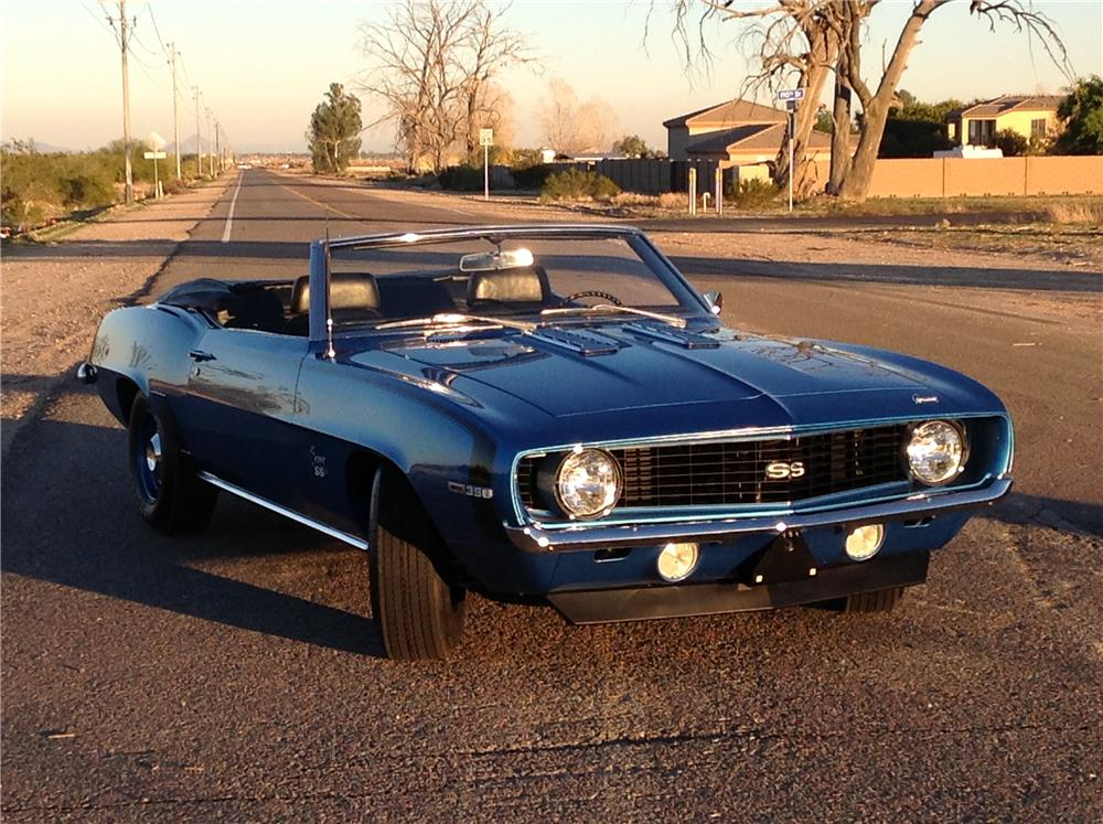 1969 chevrolet camaro ss convertible 180620. Black Bedroom Furniture Sets. Home Design Ideas