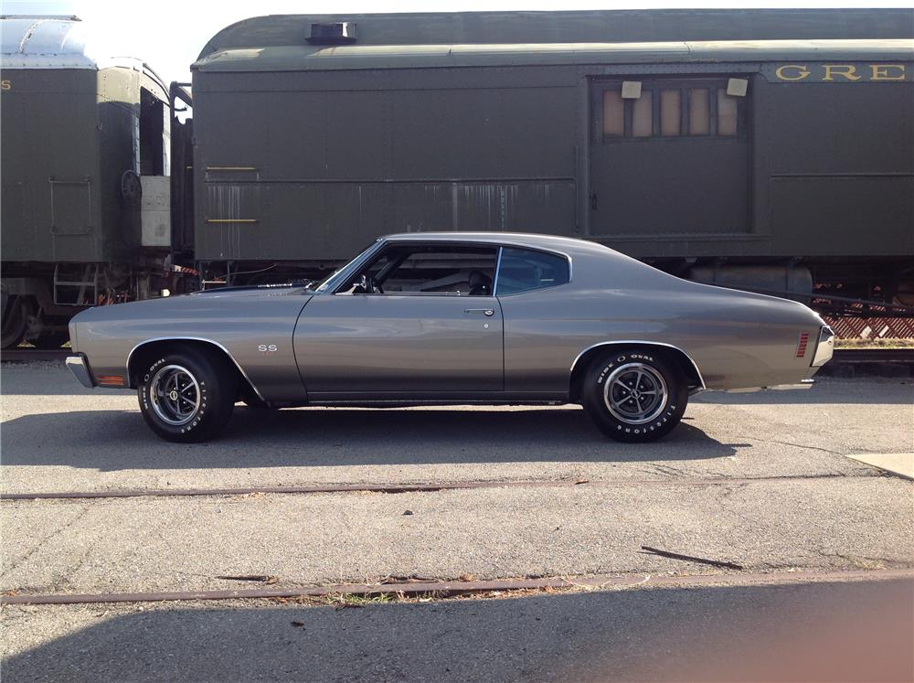 1970 CHEVROLET CHEVELLE SS 454 - Side Profile - 180621