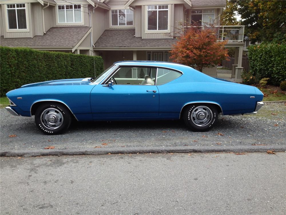 1969 CHEVROLET CHEVELLE COPO 427 - Side Profile - 180622