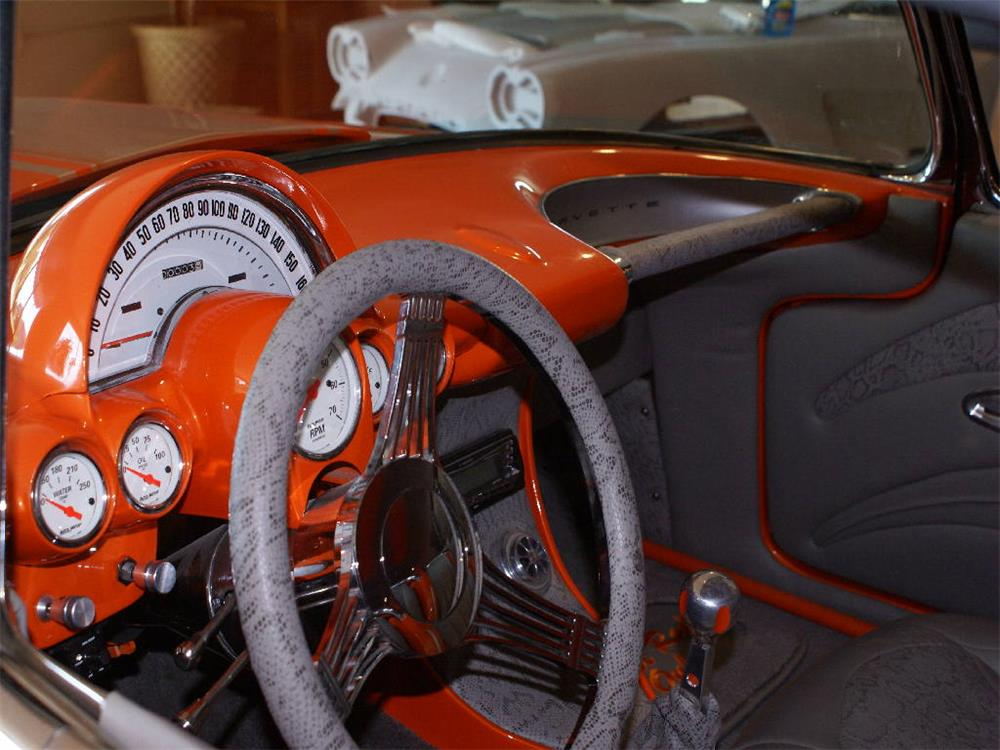 1959 CHEVROLET CORVETTE CUSTOM ROADSTER - Interior - 180623