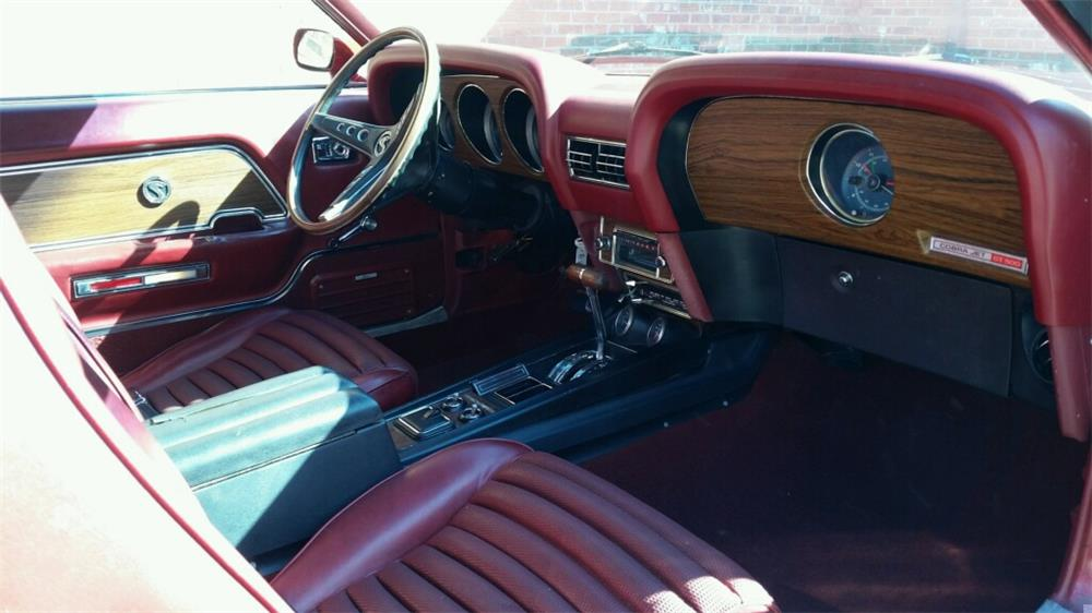 1970 SHELBY GT500 FASTBACK - Interior - 180624
