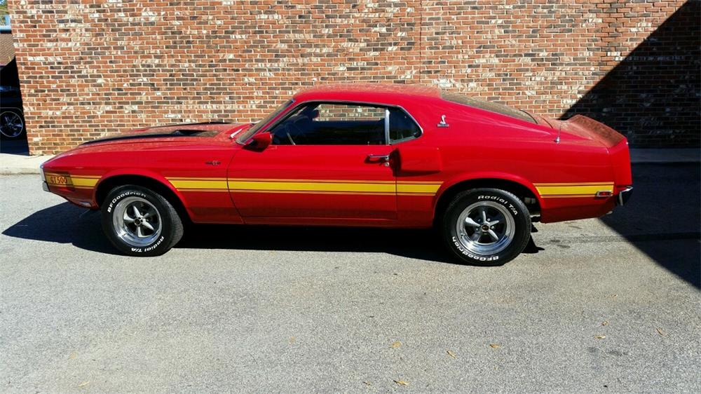 1970 SHELBY GT500 FASTBACK - Side Profile - 180624