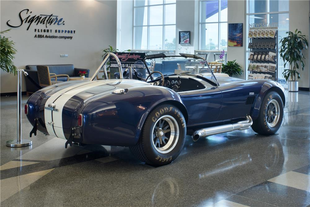 1965 SHELBY COBRA CSX 6000 ROADSTER - Rear 3/4 - 180625