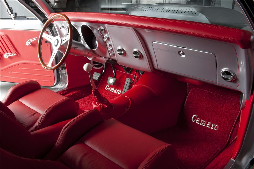 1967 CHEVROLET CAMARO CUSTOM - Interior - 180628