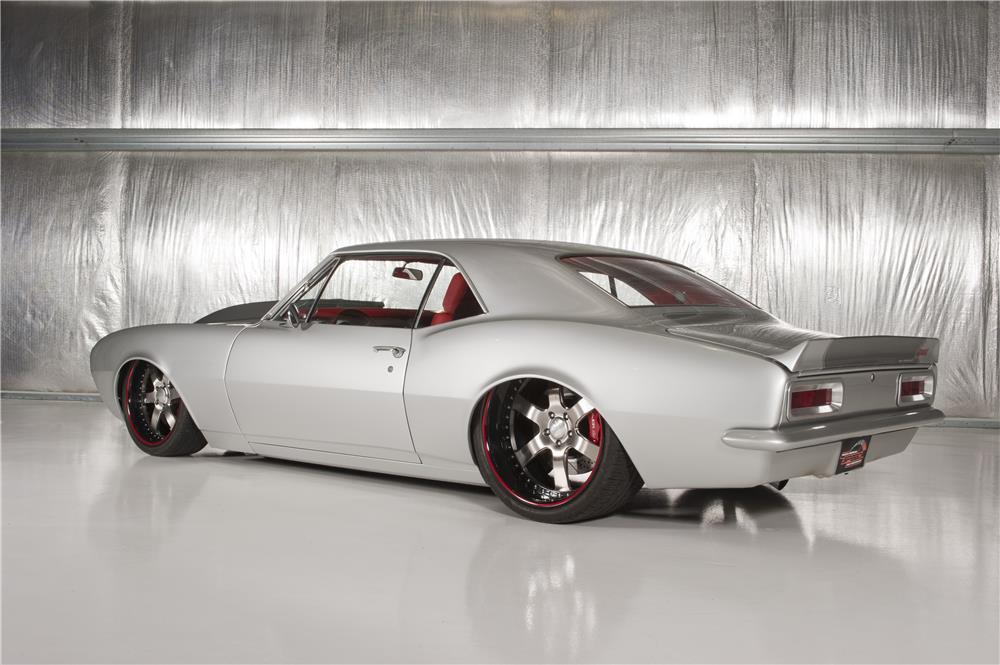 1967 CHEVROLET CAMARO CUSTOM - Rear 3/4 - 180628