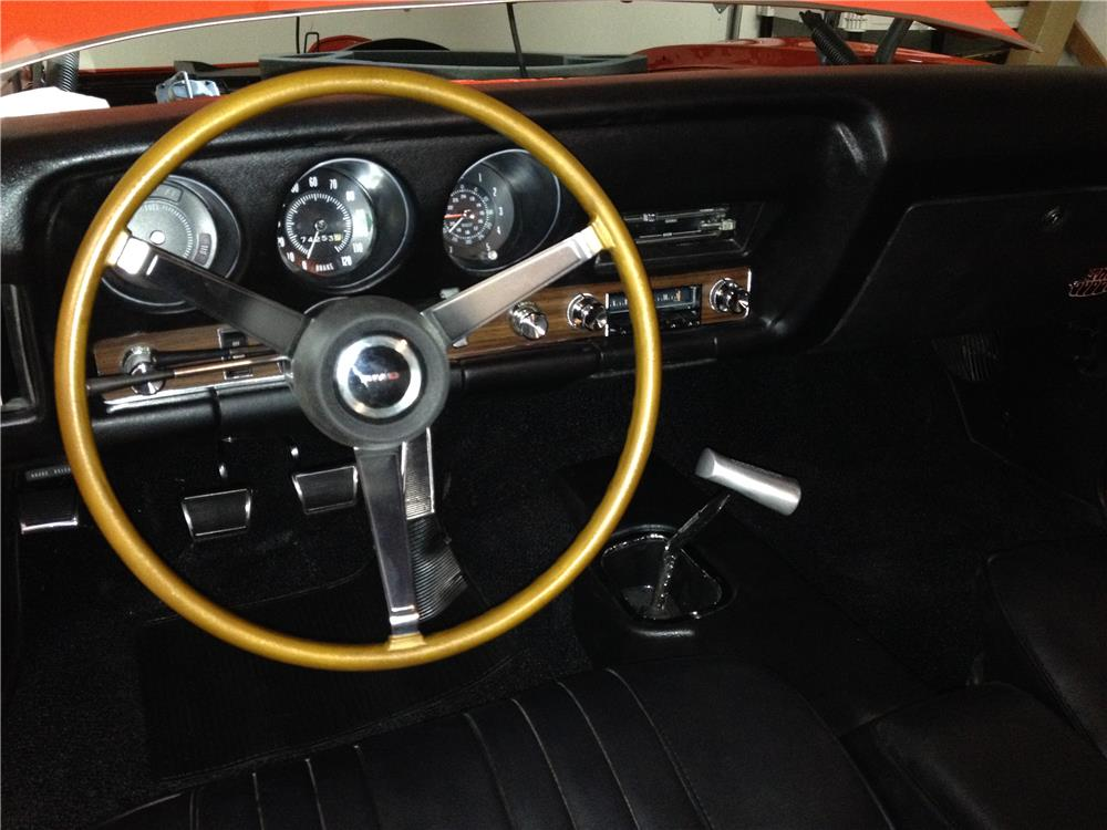 1969 PONTIAC GTO JUDGE - Interior - 180632