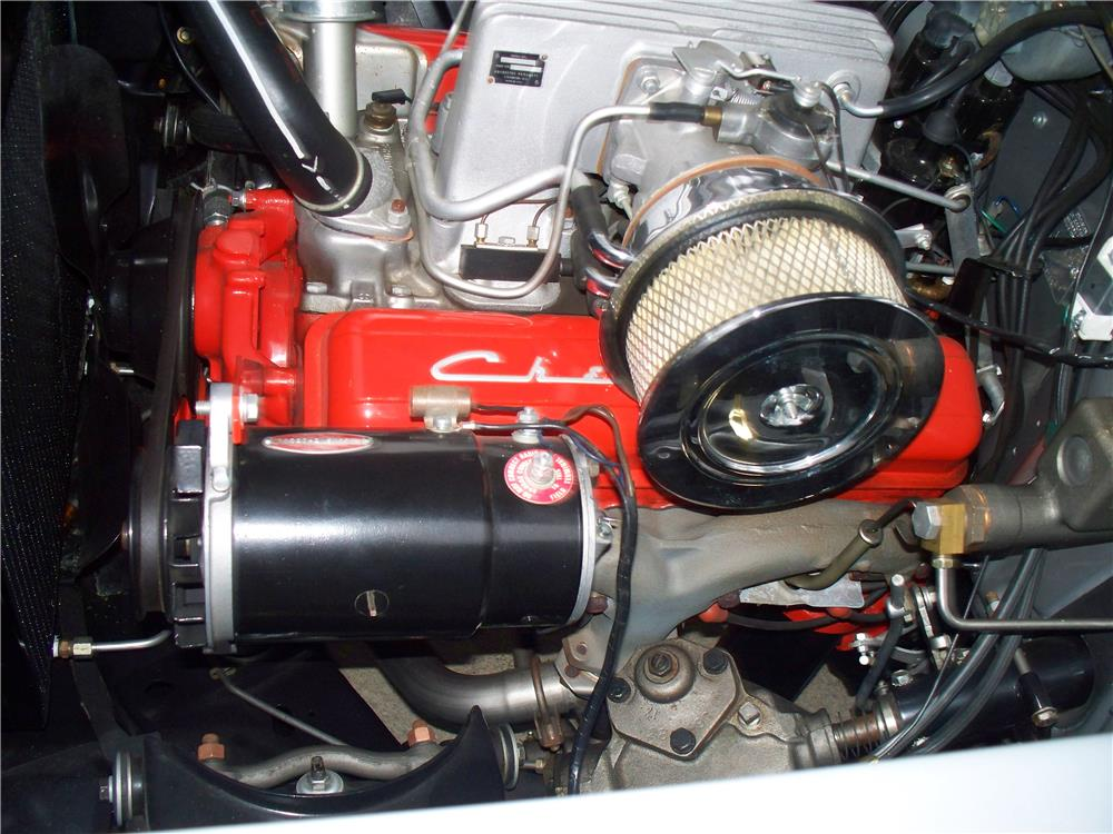 1957 CHEVROLET BEL AIR - Engine - 180633