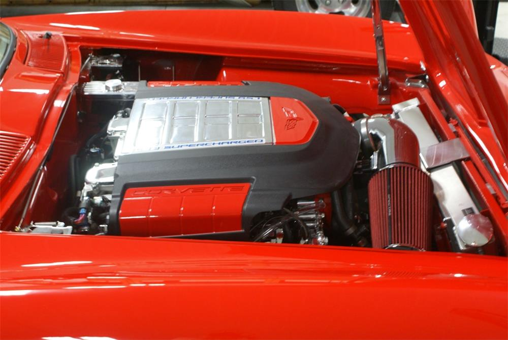 1966 CHEVROLET CORVETTE CUSTOM - Engine - 180636