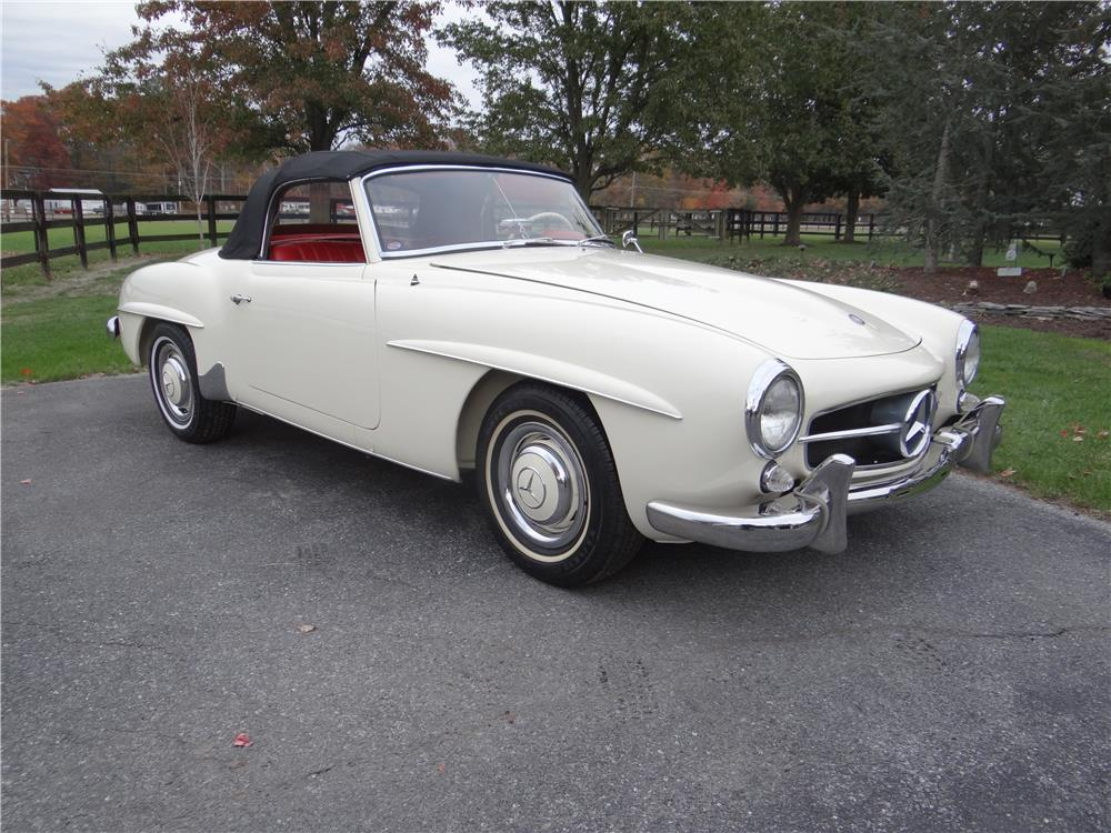 1961 mercedes benz 190sl convertible 180637
