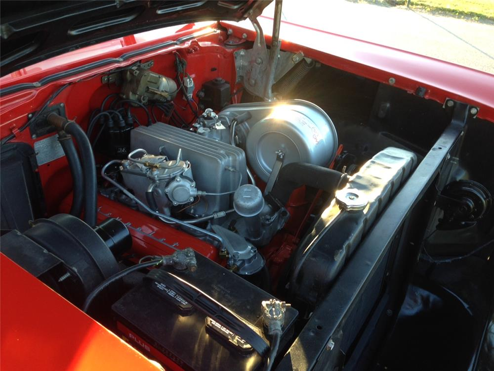 "1957 CHEVROLET BEL AIR CONVERTIBLE ""FUELIE"" - Engine - 180645"