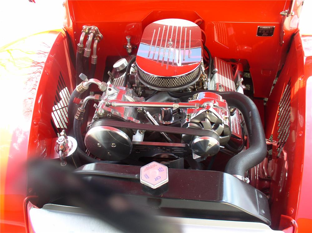 1940 FORD CUSTOM COUPE - Engine - 180652