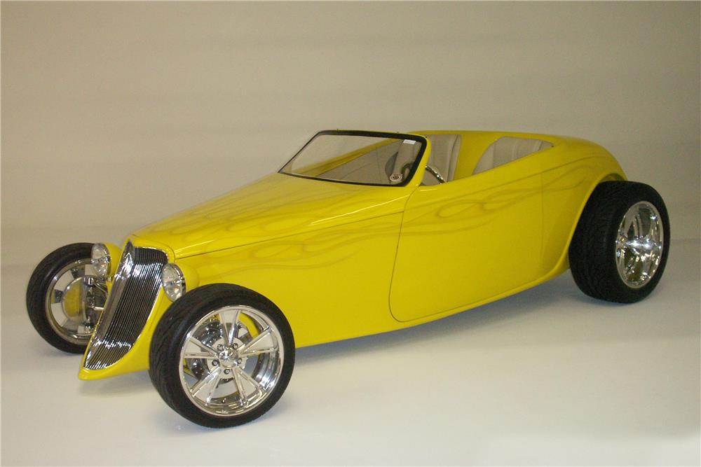 1933 FORD SPEEDSTAR ROADSTER - Front 3/4 - 180654