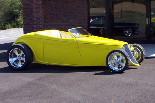 1933 FORD SPEEDSTAR ROADSTER - Side Profile - 180654