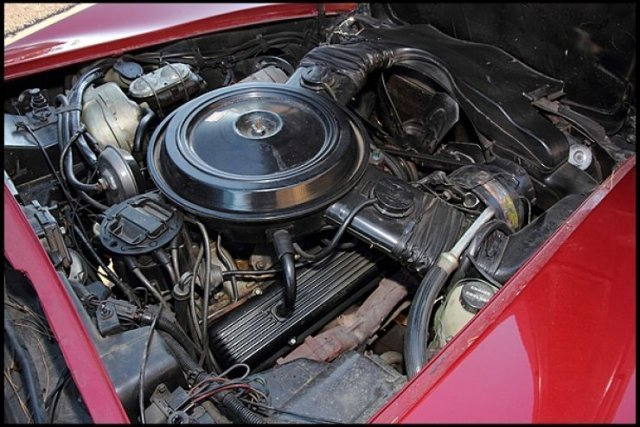 1978 CHEVROLET CORVETTE - Engine - 180666
