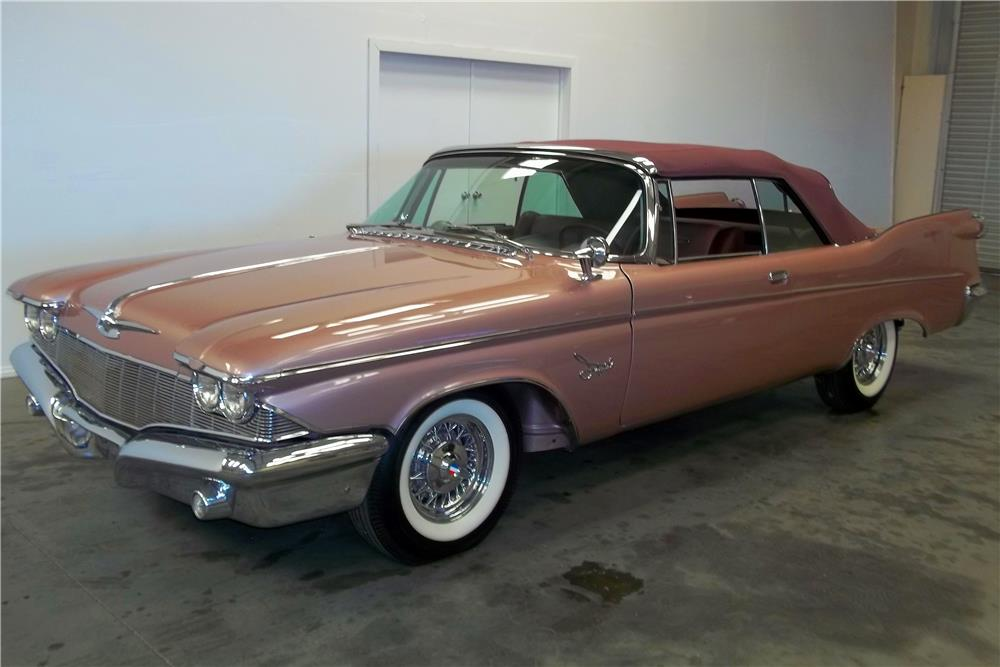 1960 chrysler imperial convertible front 3 4 180669. Cars Review. Best American Auto & Cars Review