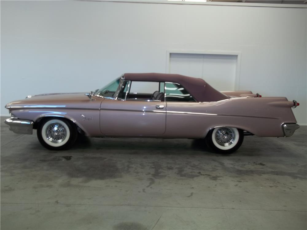 1960 CHRYSLER IMPERIAL CONVERTIBLE - Side Profile - 180669