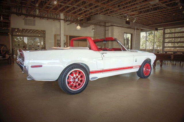 1968 FORD MUSTANG CUSTOM CONVERTIBLE - Rear 3/4 - 180671