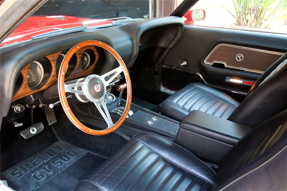 1970 FORD MUSTANG CUSTOM CONVERTIBLE - Interior - 180676