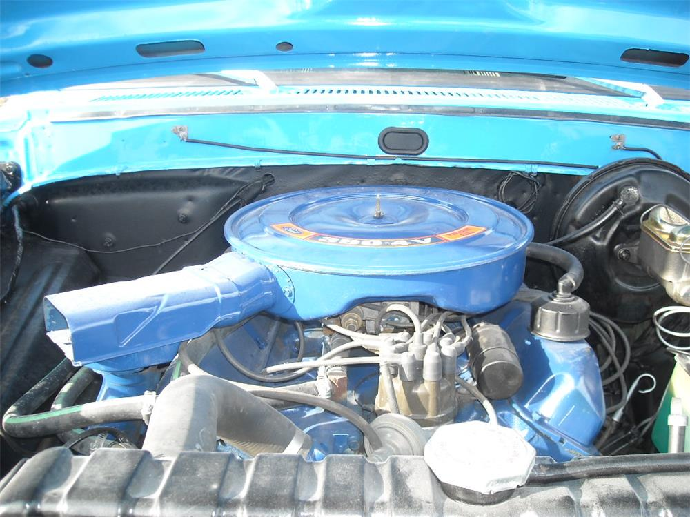 1972 FORD F-100 CUSTOM PICKUP - Engine - 180685