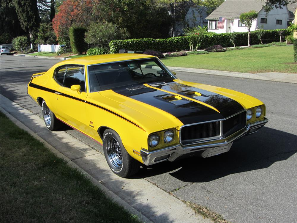 1971 BUICK GS CUSTOM - Front 3/4 - 180689