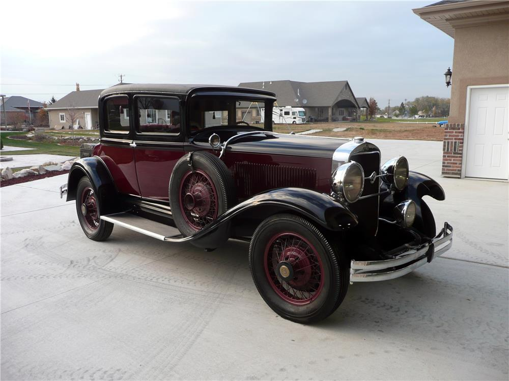 1929 studebaker president eight coupe 180692. Black Bedroom Furniture Sets. Home Design Ideas
