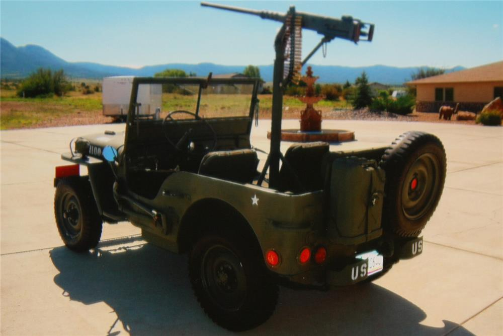 1942 WILLYS MILITARY JEEP  - Rear 3/4 - 180693