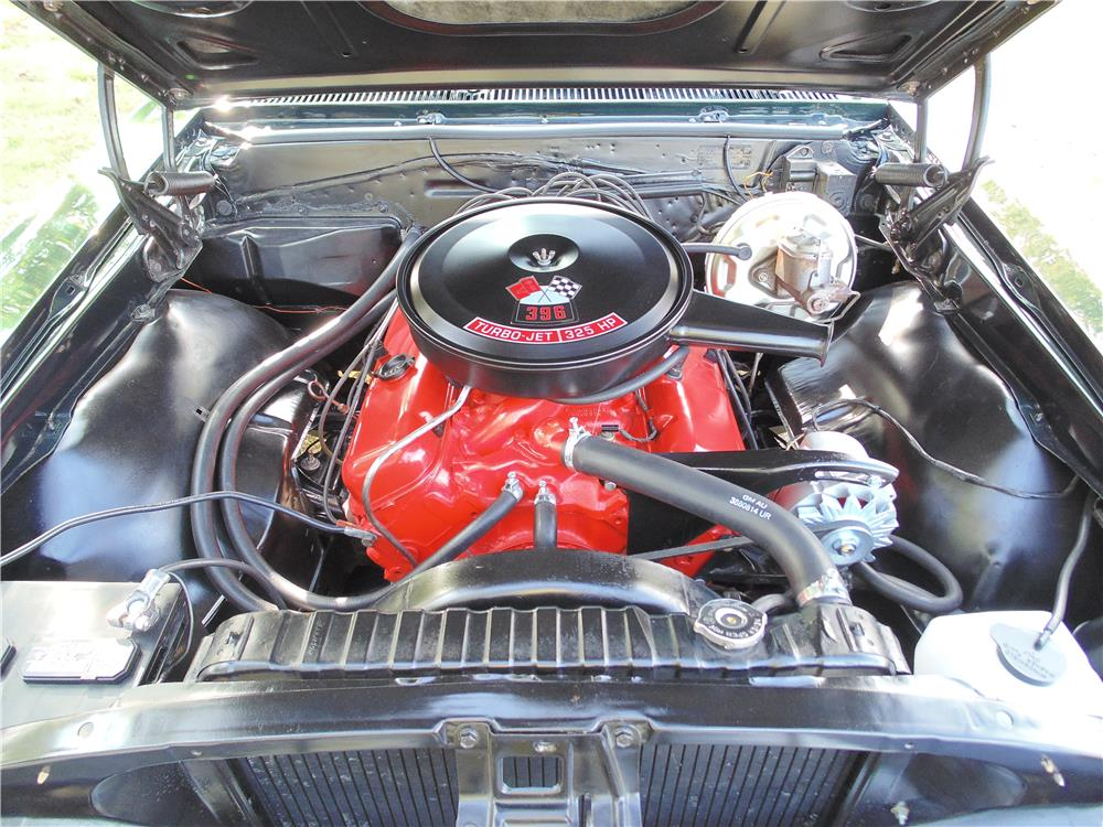 1967 CHEVROLET EL CAMINO SS PICKUP - Engine - 180699