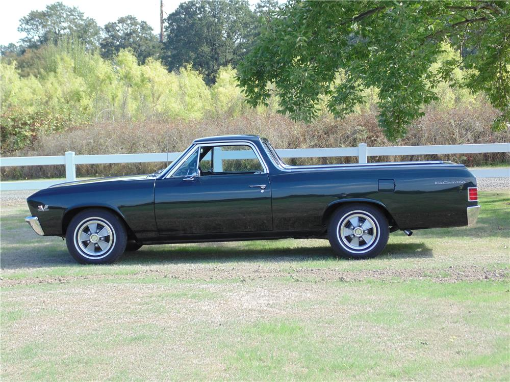 1967 CHEVROLET EL CAMINO SS PICKUP - Side Profile - 180699