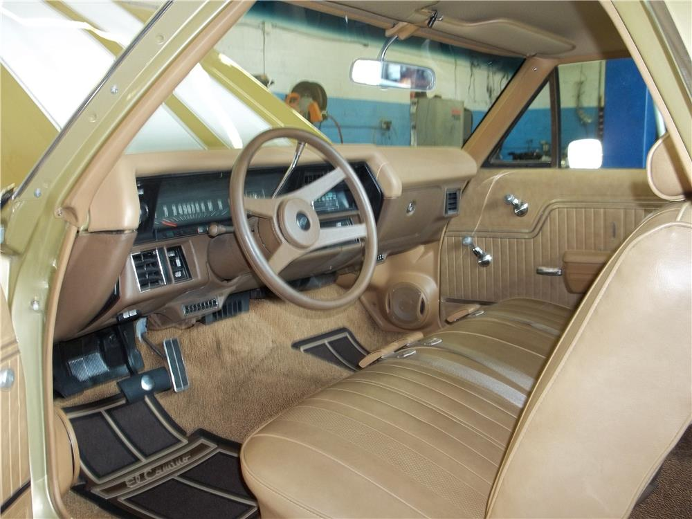 1970 CHEVROLET EL CAMINO PICKUP - Interior - 180700