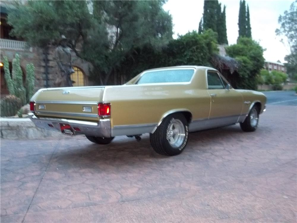 1970 CHEVROLET EL CAMINO PICKUP - Rear 3/4 - 180700