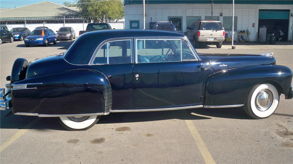 1948 LINCOLN CONTINENTAL 2 DOOR COUPE - Front 3/4 - 180701