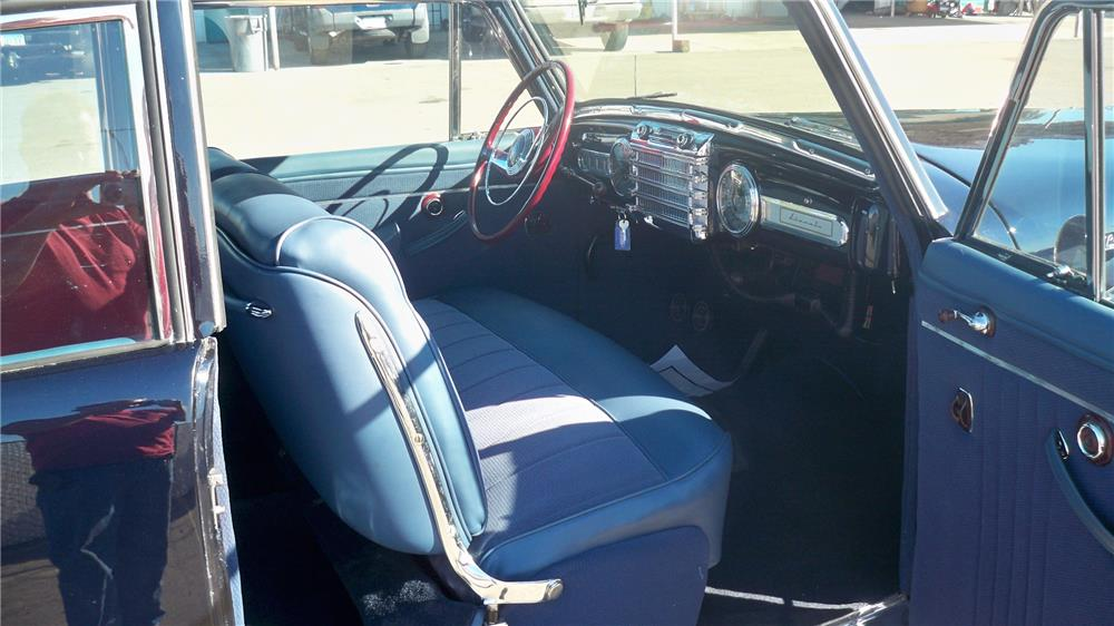 1948 LINCOLN CONTINENTAL 2 DOOR COUPE - Interior - 180701