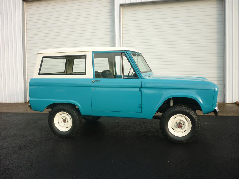 1970 FORD BRONCO 4X4 - Side Profile - 180706
