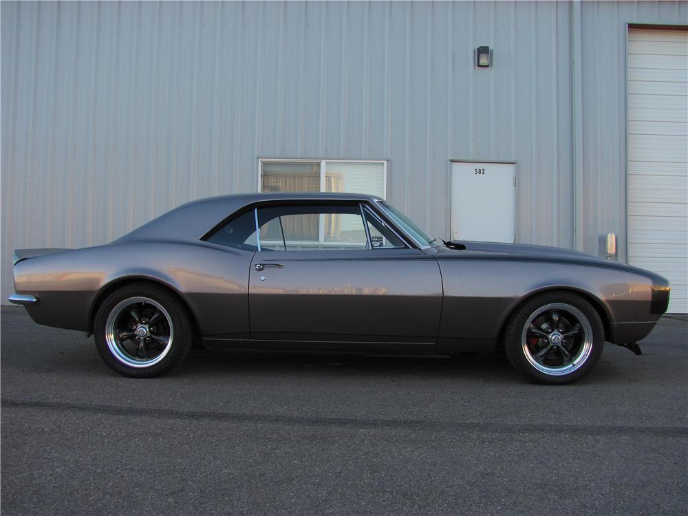1967 CHEVROLET CAMARO CUSTOM - Side Profile - 180712